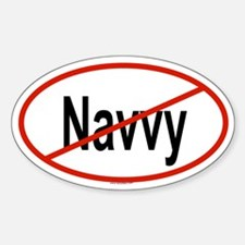 NAVVY Oval Decal