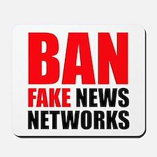 Ban Fake News Networks Mousepad