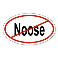 NOOSE Oval Decal