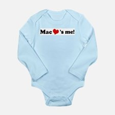 Mac loves me Infant Creeper Body Suit