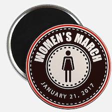 Women's March 2017 Magnet