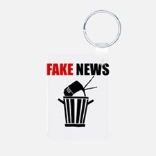 Fake News Pile of Garbage Keychains