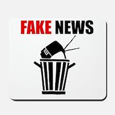 Fake News Pile of Garbage Mousepad