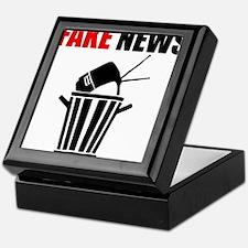 Fake News Pile of Garbage Keepsake Box