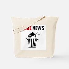Fake News Pile of Garbage Tote Bag