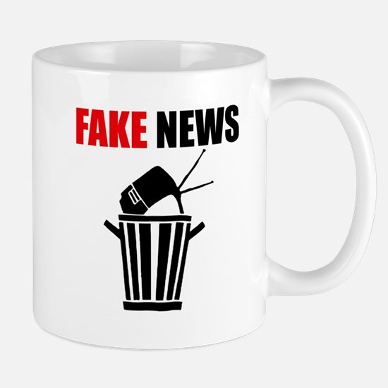 Fake News Pile of Garbage Mugs