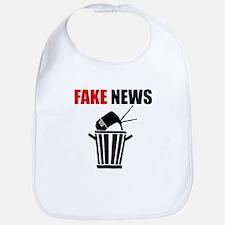 Fake News Pile of Garbage Baby Bib