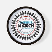 Womens March Wall Clock