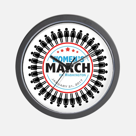 Womens March Wall Clock