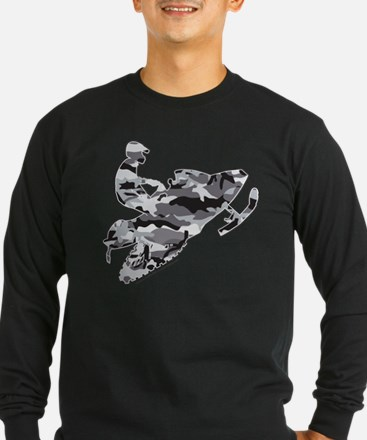 Camo Grey Sled on Black copy.png Long Sleeve T-Shi