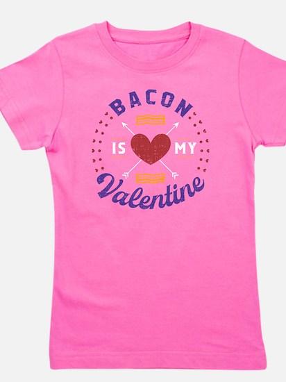 Cute Bacon girlfriend Girl's Tee