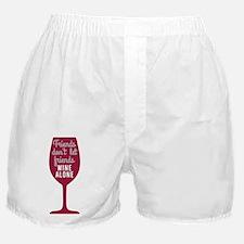 Wine Alone Boxer Shorts