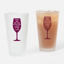 Glass Of Wine Humor Drinking Glass