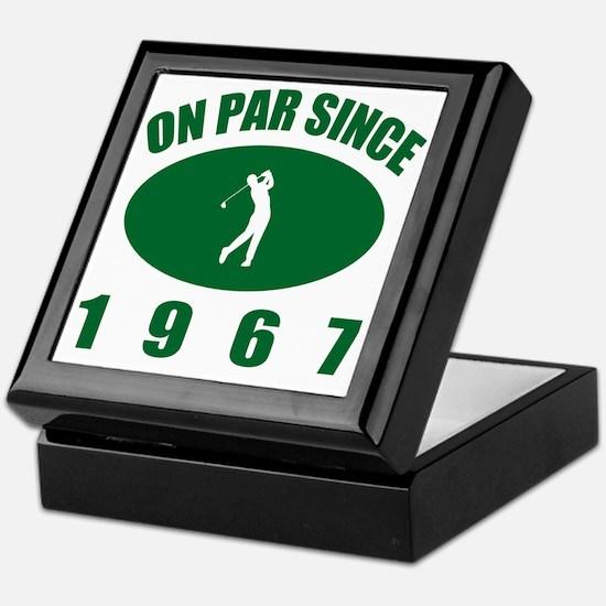 Cute Funny golf Keepsake Box