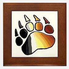 BEAR PRIDE PAW2/TONES Framed Tile