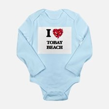 I love Tobay Beach New York Body Suit