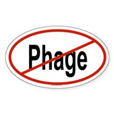 PHAGE Oval Decal