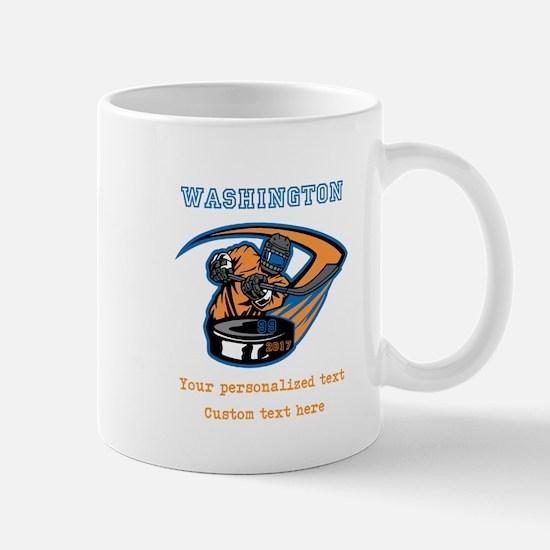 Hockey Personalized Mugs
