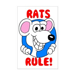 White Rats Rule Posters