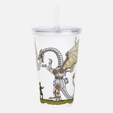 Mechanical Dragon Acrylic Double-wall Tumbler