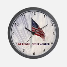 Honoring Those Who Serve Wall Clock