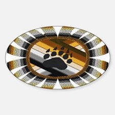 BEAR PAW PRIDE DESIGN/ Oval Decal