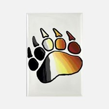 BEAR PRIDE PAW2/TONES Rectangle Magnet