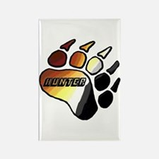 BEAR PRIDE PAW/HUNTER Rectangle Magnet