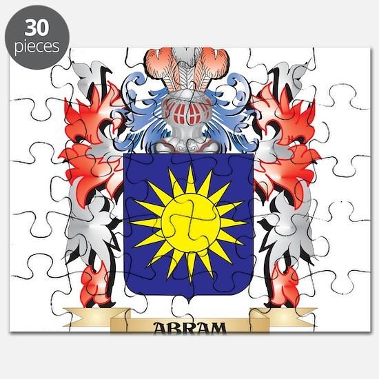 Abram Coat of Arms - Family Crest Puzzle