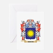 Abram Coat of Arms - Family Crest Greeting Cards