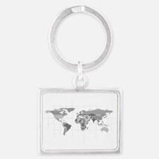 World Landscape Keychain