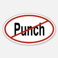 PUNCH Oval Decal