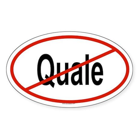 QUALE Oval Sticker