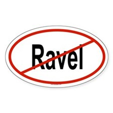 RAVEL Oval Decal