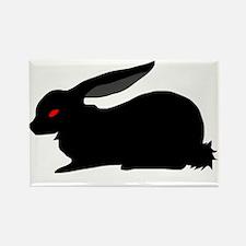Black Rabbit Magnets