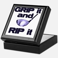 Grip it and Rip it Keepsake Box