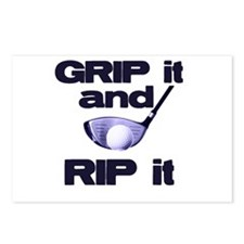 Grip it and Rip it Postcards (Package of 8)