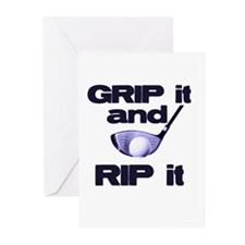 Grip it and Rip it Greeting Cards (Pk of 10)