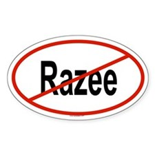 RAZEE Oval Decal