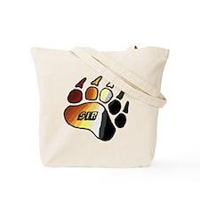 BEAR PRIDE PAW/SIR Tote Bag