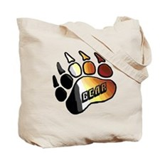BEAR PRIDE PAW/BEAR Tote Bag