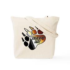 BEAR PRIDE PAW/GROPE ME Tote Bag