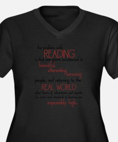 The Problem with Reading Plus Size T-Shirt