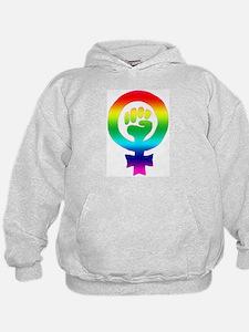 Rainbow Feminist Sweatshirt