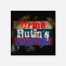 Urine Putin's America Sticker
