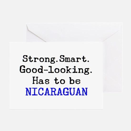 be nicaraguan Greeting Card