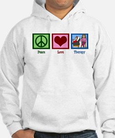 Peace Love Therapy Jumper Hoody