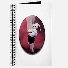 Ballerina with Teddy Bear Journal