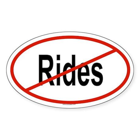 RIDES Oval Sticker