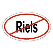 RIELS Oval Decal